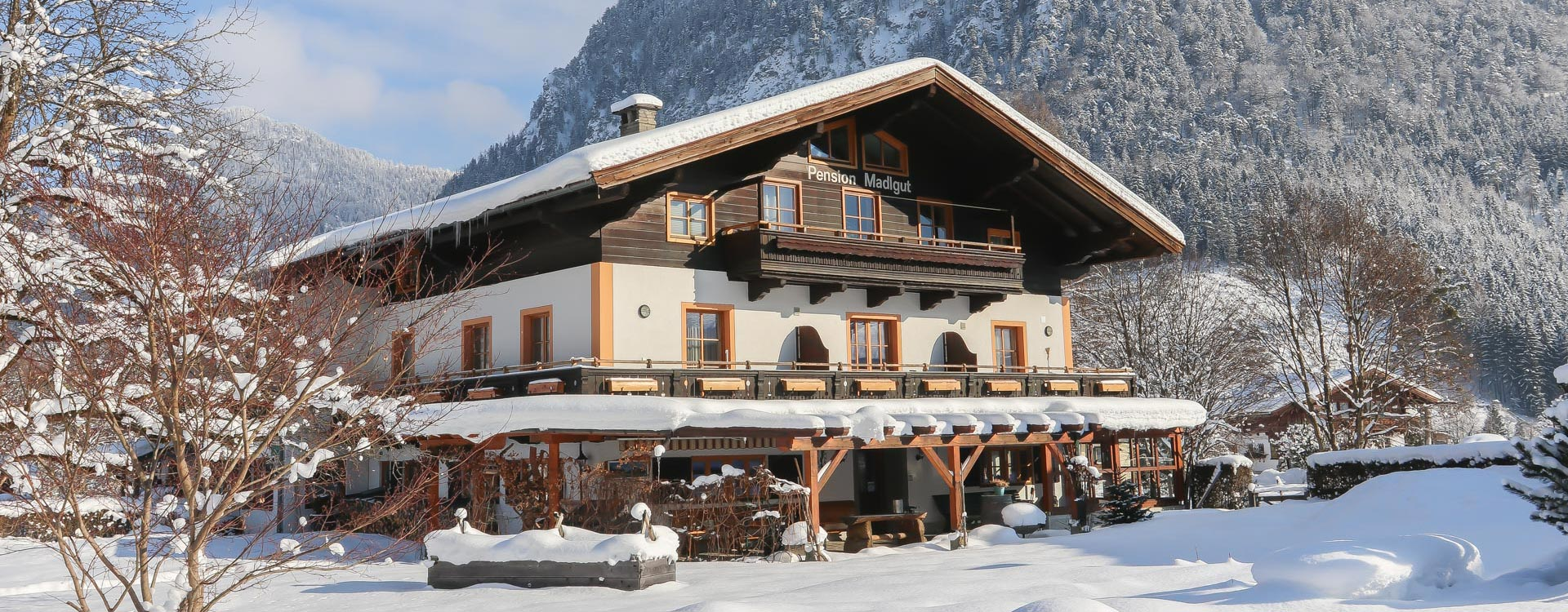 Hotel Pension Lofer Winter