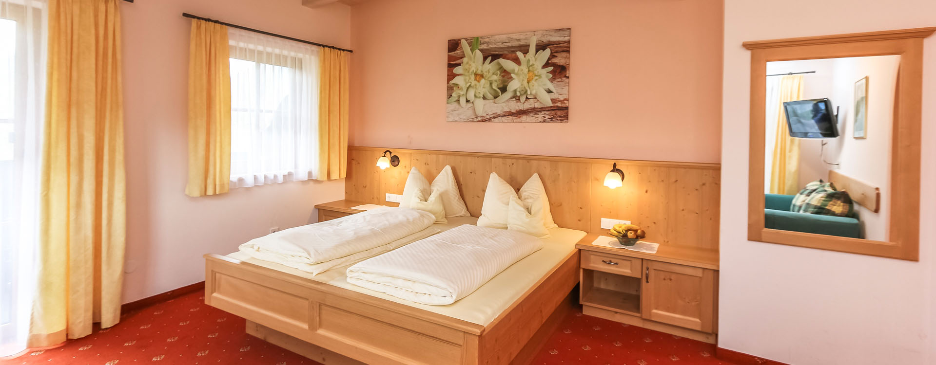 Hotel Pension Lofer Zimmer